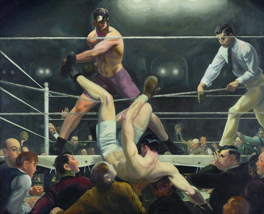 George Bellows, Dempsey and Firpo (1924),