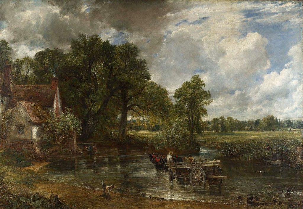 'The Hay Wain' (1821) by John Constable