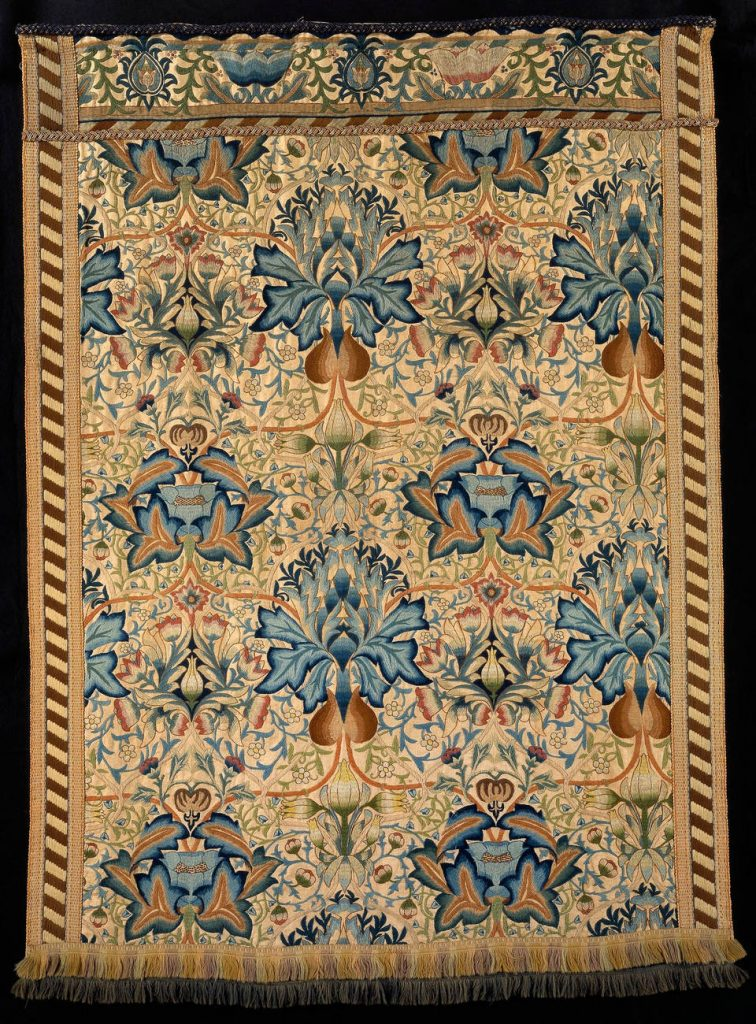 Wall hanging, designed by William Morris