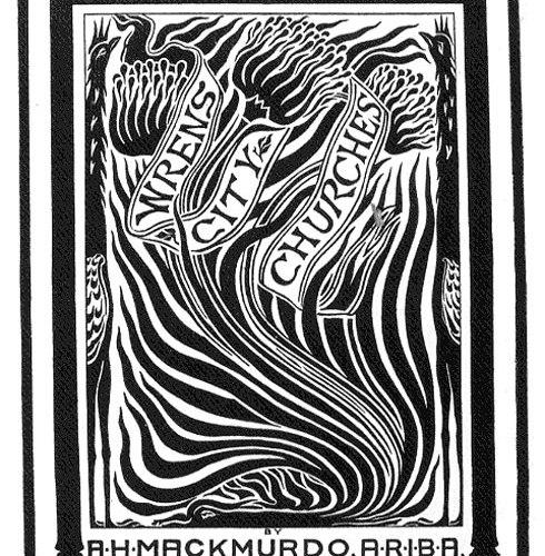 Wren's City Churches, 1883 Bookcover of Arthur Mackmurdo