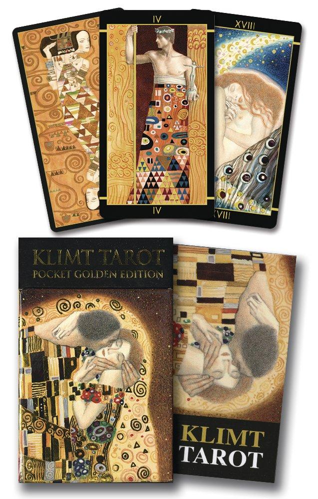 Golden Tarot of Klimt Mini Deck: Pocket Gold Edition Cards – January 8, 2015