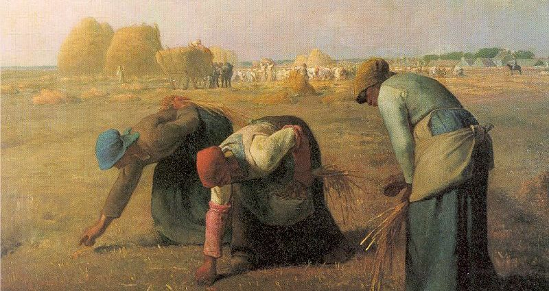 The Gleaners (1857) by Jean-François Millet