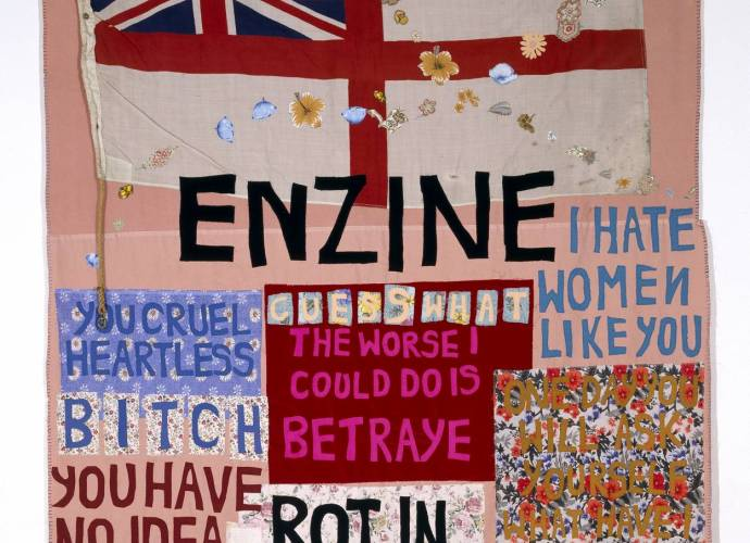 Hate and Power Can be a Terrible Thing 2004 by Tracey Emin born 1963