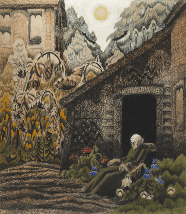 Garden of Memories by Charles Burchfield