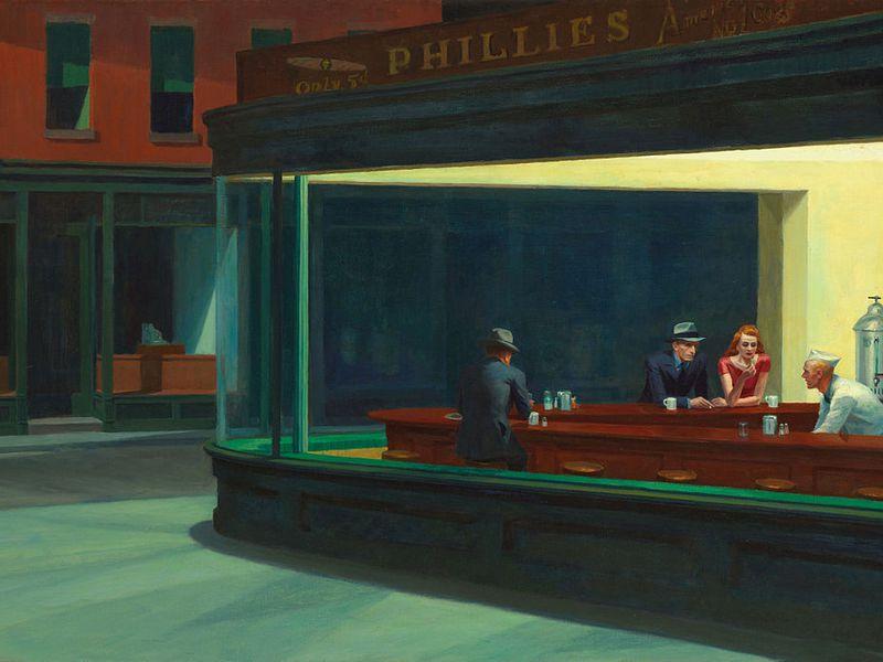 The Night Hawks by Edward Hopper