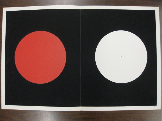 Plate, Interaction of color, plate VIIII-I, 1963