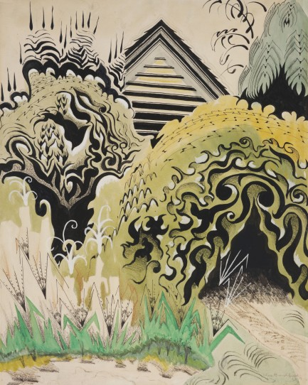 The Insect Chorus (1917) by Charles Burchfield