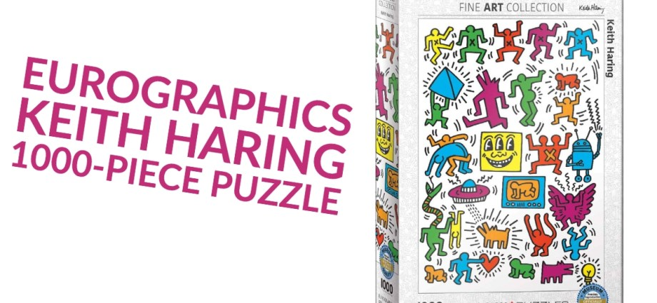 EuroGraphics Keith Haring 1000-Piece Puzzle