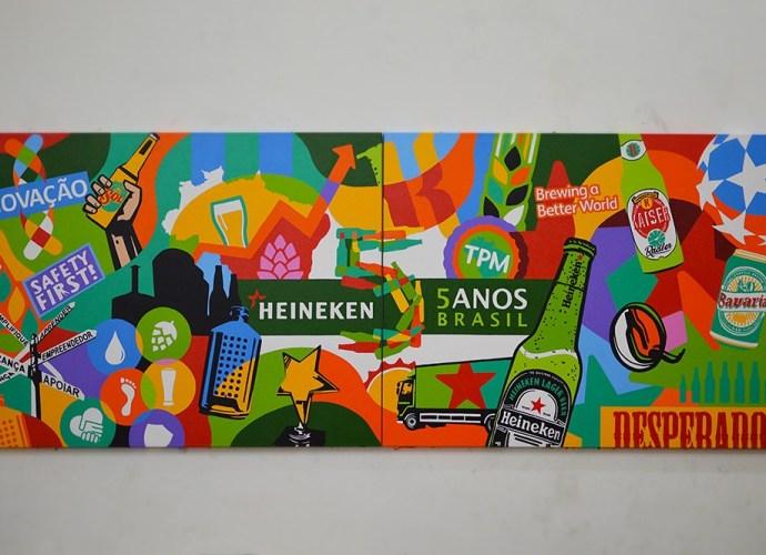 Heineken 5 anos Brasil