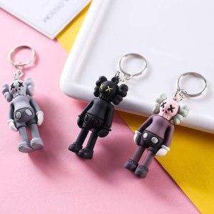 4 Pack Cute KAWS Keychain