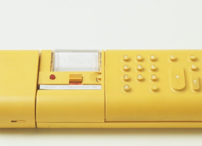 Mario Bellini Yellow Calculator