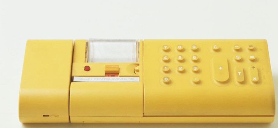 Mario Bellini Yellow Calculator