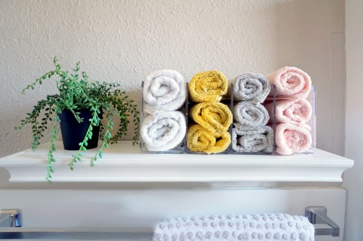 Bathroom tricks for towels