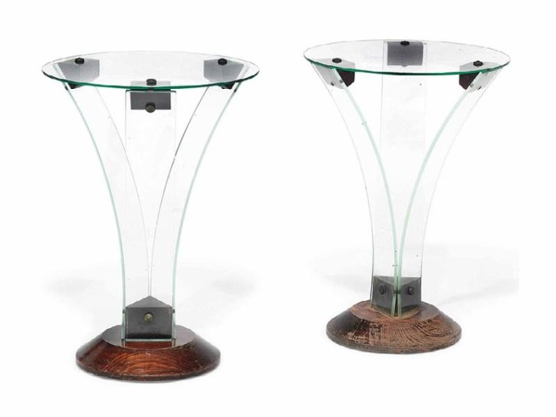 René-André Coulon side tables