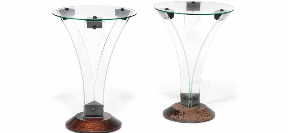 René-André Coulon side tables
