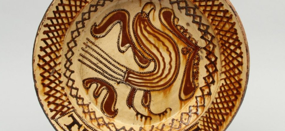 slipware pottery