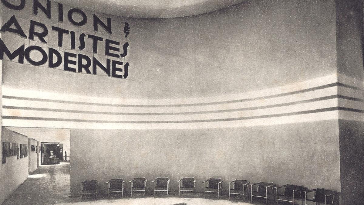 Democratic Design of the Union des Artistes Modernes