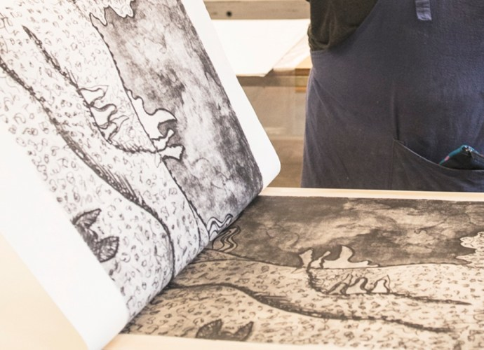 Lithography example image
