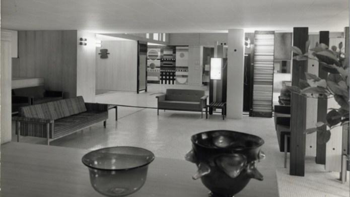 XII Triennale 1960 - Entrance Hall