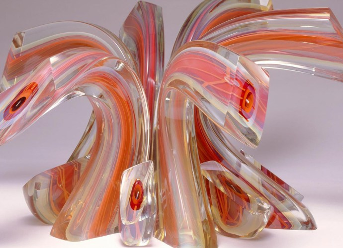 Harvey Littleton Glassware