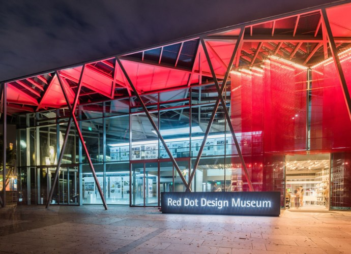 Red Dot Design Museum in Singapore