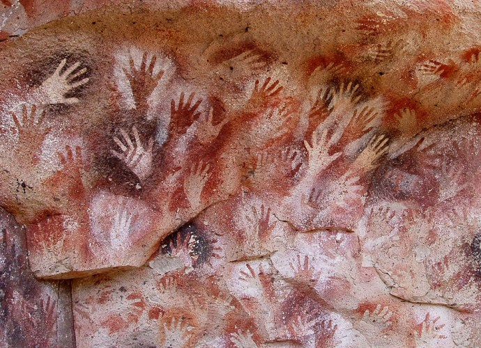 S.Giedion - Paeolithic Handprint