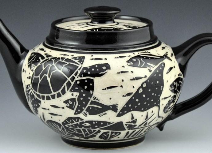 Sgraffito Pottery Example