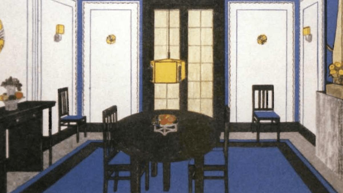Winold Reiss Interior