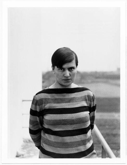 Marianne Brandt black and white portrait