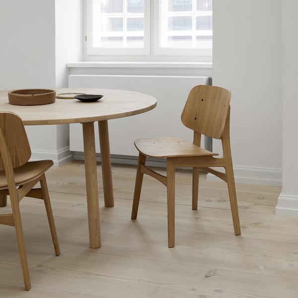 Soborg Chair - Wood Frame Børge Mogensen for Fredericia Furniture