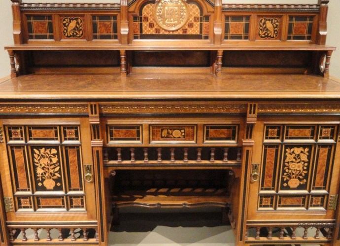 Drawing-Room Cabinet, 1871-1872, designed by Bruce James Talbert