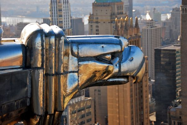Gargoyle Head, Chrysler Building New York