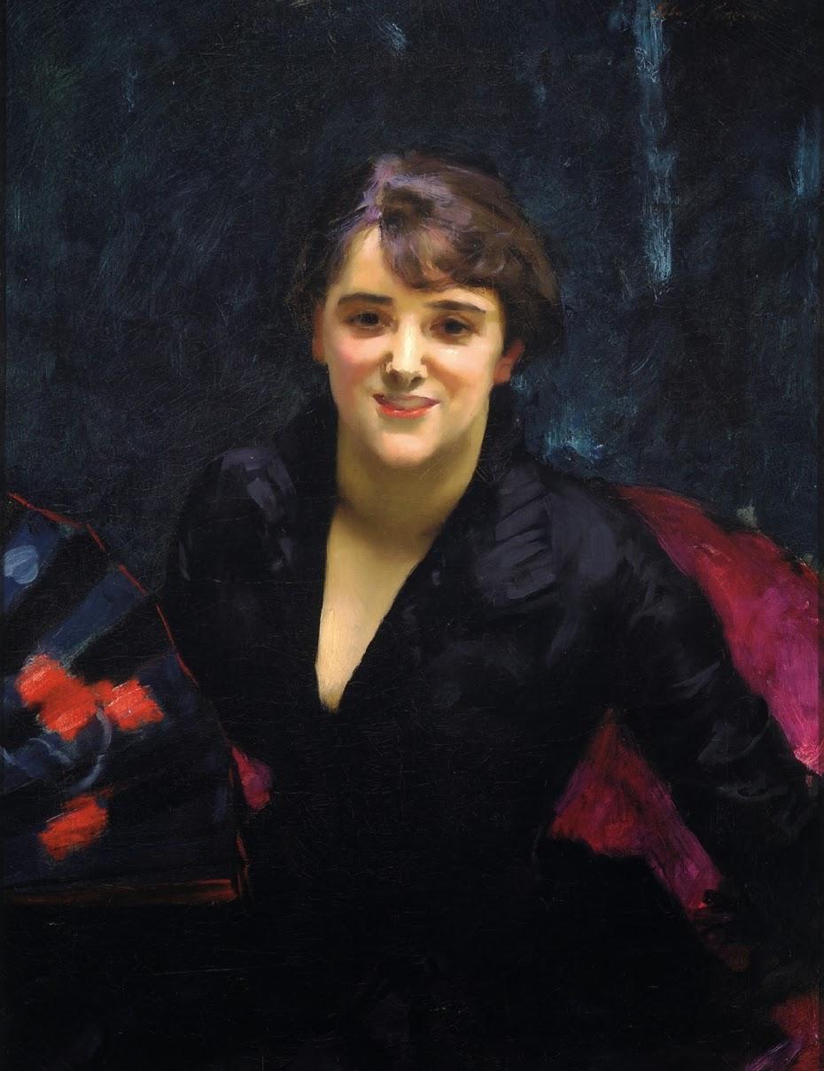 Madame Errazuriz or The Lady in Black, John Singer Sargent, c. 1882–188