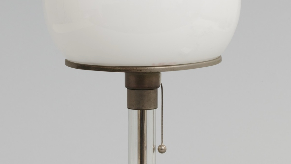 Metal and glass table lamp featured image
