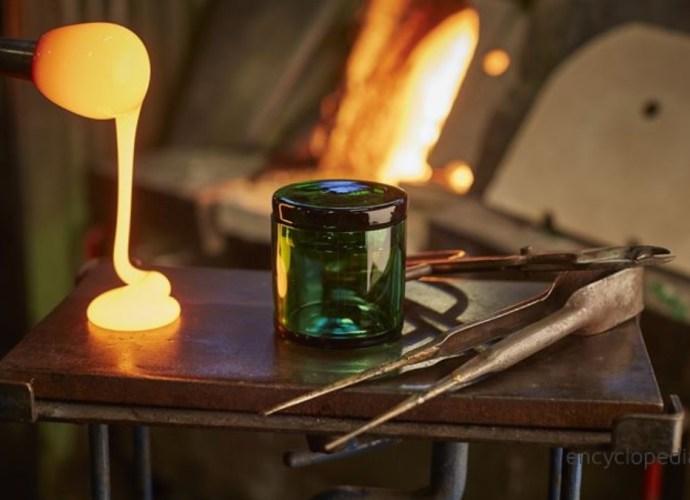 Orrefors glass making