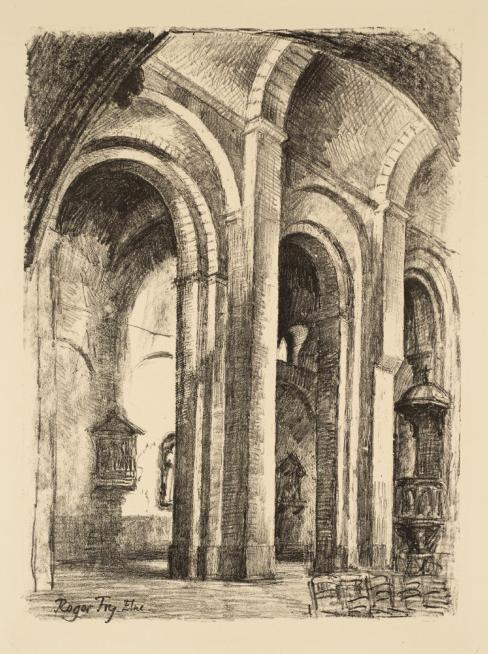 Elne 1930 by Roger Fry 1866-1934