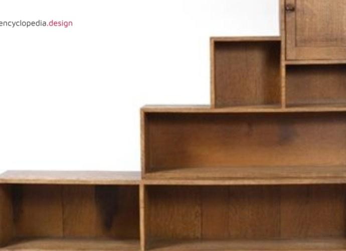 Peter van de Waals bookcase