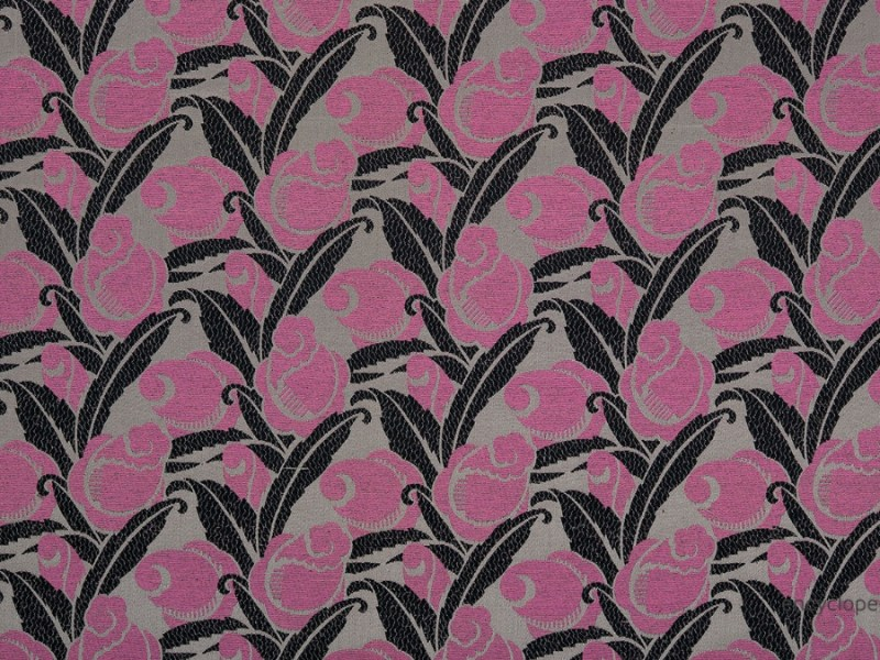 Rose Mousse pattern for upholstery, cotton and silk (1920), Metropolitan Museum of Art by André Mare