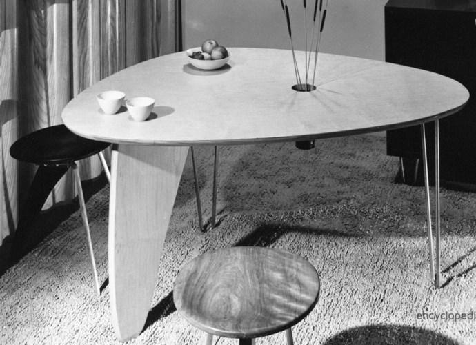 Rudder Table by Isamu Noguchi, 1949.