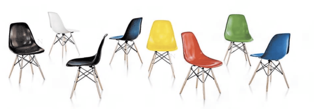 Shell chair by Eames and Saarinen