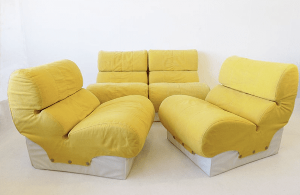 Softline Modular Lounge Chairs by Otto Zapf