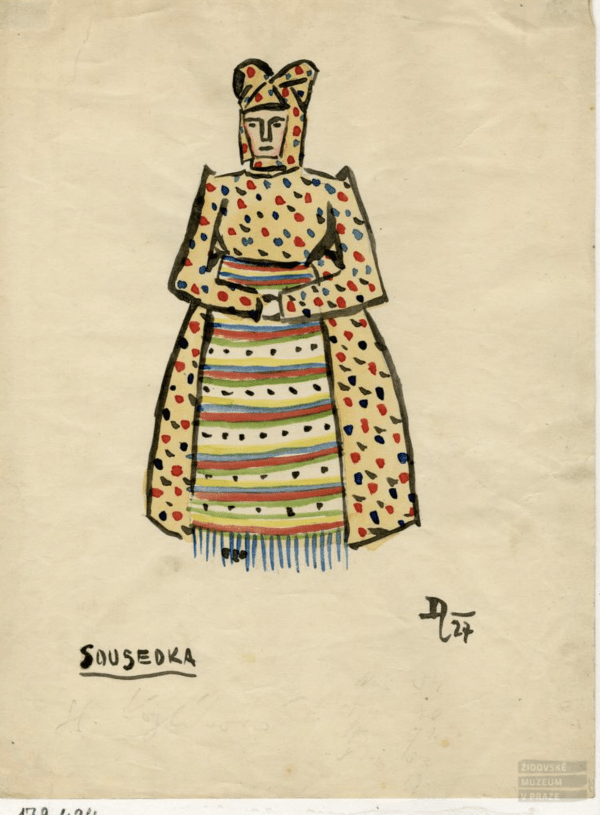 František Zelenka Costume design - neighbor