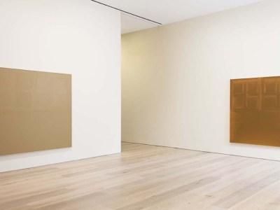 View of James Bishop's 2014 exhibition