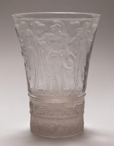 Clear Glass tumbler designed by Jaroslav Horejc