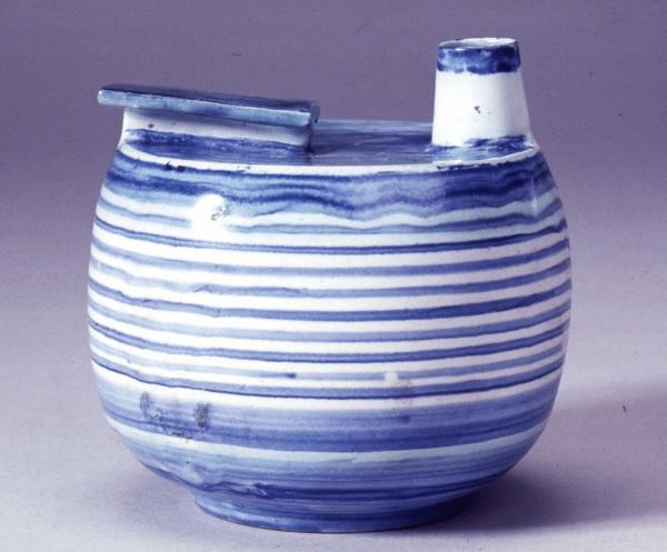 Jug tin-glazed earthenware designed by Theodor Bogler 1925-26