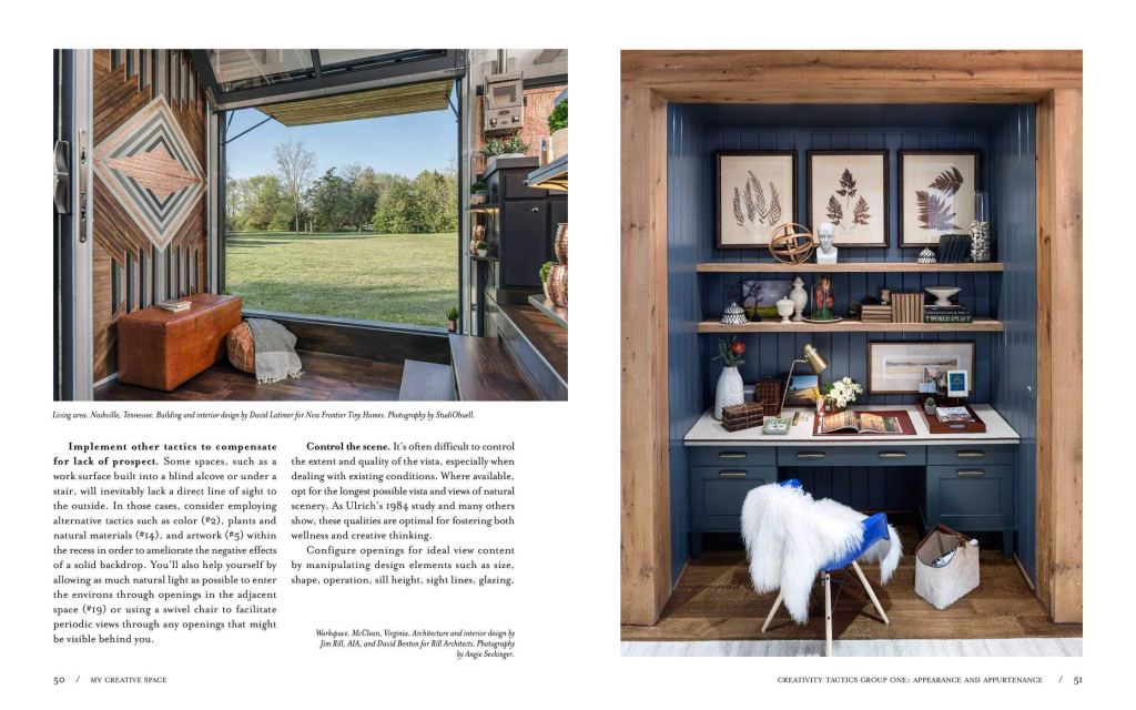 My Creative Space by Donald M. Rattner sample page