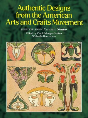 Authentic Designs - American Arts and Crafts book cover