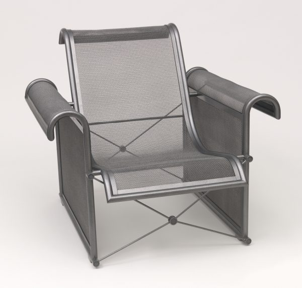 The Sportes Mesh Chair Armchair by Ronald-Cecil Sportes