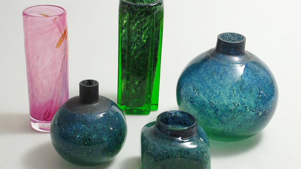 Benny Motzfeldt (1909-95), vases for Randsfjord and Plus