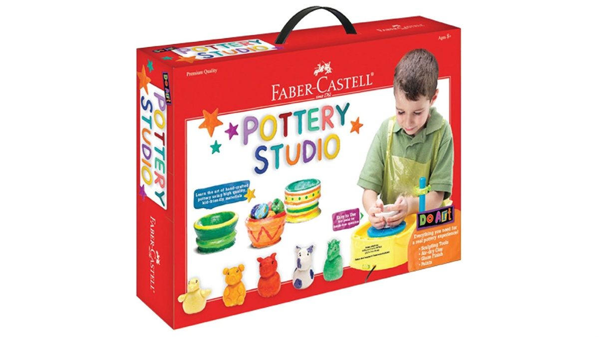 Faber Castell Pottery Studio for kids featured image